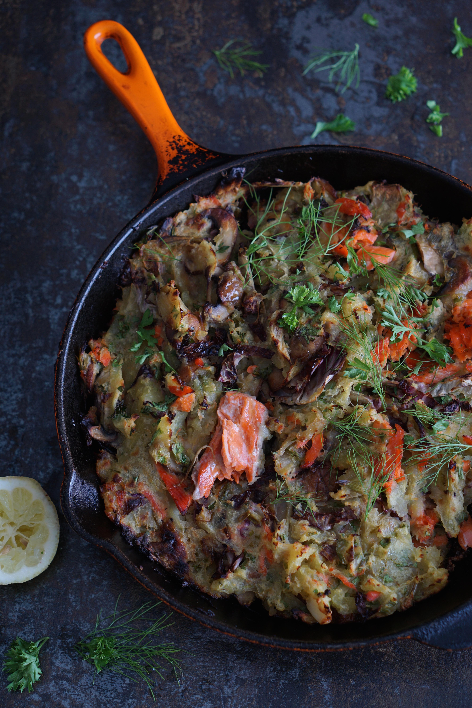 Sweet Potato And Wild Salmon Hash Aip Paleo Healing Family Eats